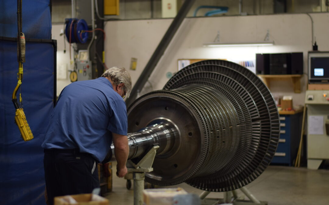 Steam Turbine Overhaul For A Historic Steel Mill