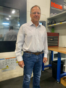 RMS Oil Free Screw Compressor engineer Joe Vanden Oever