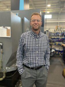 RMS Oil Free Screw Compressor engineer Bill Egan
