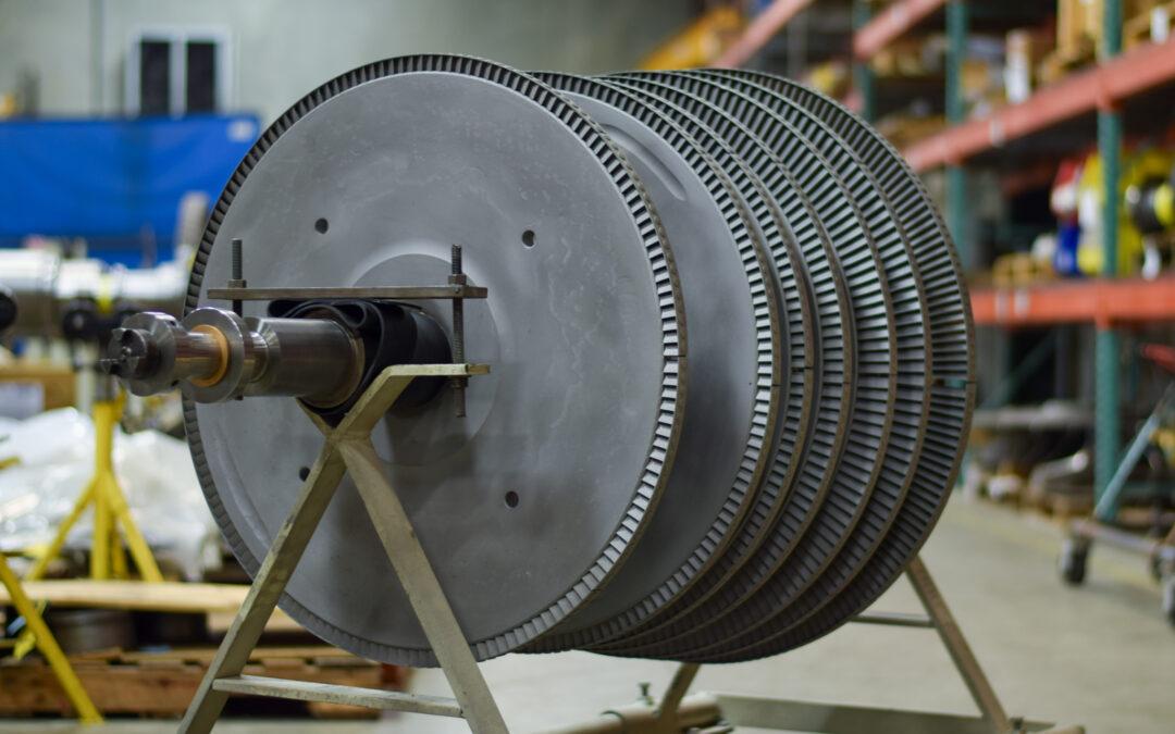 Murray KD7 steam turbine