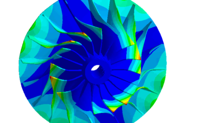Engineering Analysis and Structural Tuning of a Centrifugal Compressor Impeller