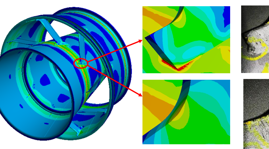 Exhaust Diffuser Structural Analysis and Design Enhancement Against High Cycle Fatigue